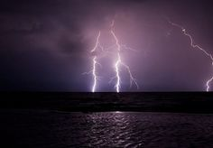 watching the lightning over lake michigan from our living room tonight. awesome.