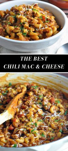 The Most Incredible Chili Mac & Cheese Ever