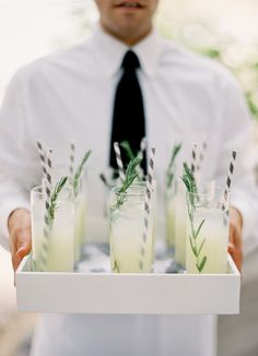 Garnish and straws