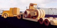 Knockabout Wooden Toy trucks