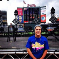 TheChuckGilliam: Sound check is a wrap! Austin Mahone is ready for his postgame concert tonight! #Braves by braves
