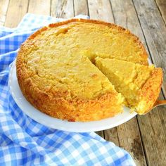 Caribbean Cornbread is extremely moist with bits of corn, crushed pineapple and the perfect amount of sweetness!  #cornbread http://tasteandsee.com