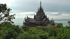 Храм истины в Паттайе (The Sanctuary of Truth) Тайланд.