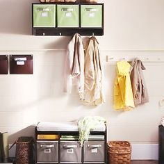 Martha Stewart's videos on organizing Kitchens and the Home.