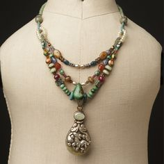 Heather Haase Designs - About Page - Unique jewelry incorporating antique and unusual gemstones into hand woven designs