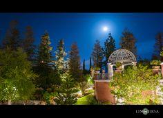 Gazebo and Garden Lawn | Four Seasons Westlake Village Wedding Reception | Rohit & Anushka