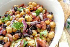Vegyes babsaláta Fruit Salad, Pasta Salad, Baking, Ethnic Recipes, Food, Party, Crab Pasta Salad, Fruit Salads, Bakken
