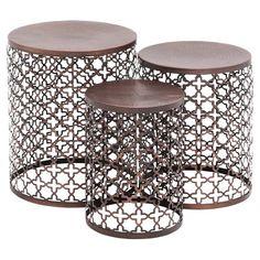 3-Piece Vanessa Nesting Table Set  at Joss and Main