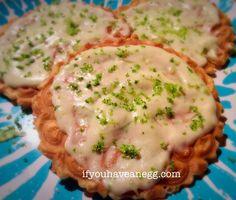 Cinco de Mayo Margarita Iced Pizzelle - 5 Weight Watchers Smart Points