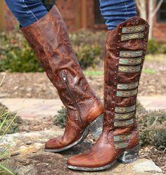 Rivertrail Mercantile - Old Gringo Elina Brass Boots L1279-4, $580.00 (http://www.rivertrailmercantile.com/old-gringo-elina-brass-boots-l1279-4/)