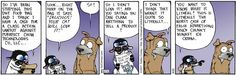 Bucky does consumer activism...Bucky-stlyle  (My way or the Highway!)            Get Fuzzy on Gocomics.com