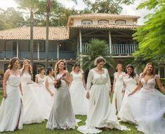Capim dos pampas: 91 formas de usar na decoração do casamento Plus Wedding Dresses, Wedding Bouquets, Bridesmaid Dresses, Just Married, Marry Me, Cute Hairstyles, Rustic Wedding, Boho Chic, Destination Wedding