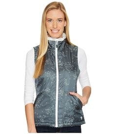 MOUNTAIN HARDWEAR Fairlane Insulated Vest. #mountainhardwear #cloth # Blue Spruce, Mountain Hardwear, Discount Shoes, Vest, Grey, Jackets, Clothes, Collection, Shopping