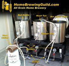 The All Grain Home Beer Brewing Process http://homebrewingguild.com/