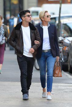 Joe Jonas Links Arms With Gigi Hadid's Mom During a Sweet Stroll