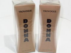 2 Bottles of Donna by Trovogue,   two 3.4 oz (100ml),bottles........ 2i74