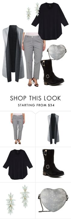 """""""plus size kelley"""" by aleger-1 ❤ liked on Polyvore featuring MICHAEL Michael Kors, Lands' End, Melissa McCarthy Seven7, UGG, R.J. Graziano, Circus by Sam Edelman and plus size clothing"""