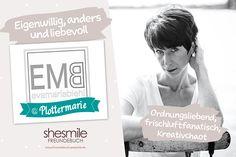Freundebuch-Eintrag: Eva-Maria Biehl für Plottermarie