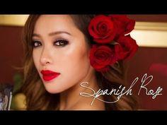 Spanish Rose #spanishrose #makeup #makeuptutorial #michellephan - Love beauty? Go to bellashoot.com for beauty inspiration!