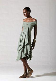 Layer Dress (Old Khaki - $995)