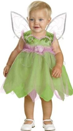 Amazon.com: Tinkerbell Infant Costume: Clothing Can this be made?