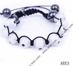 Bracelet Jewelry Findings Eye Shape without Stone White #eozy