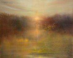 """Saatchi Art Artist Maurice Sapiro; Painting, """"Autumn Sunrise"""" #art"""