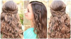 How to Create a Celtic Knot | Cute Girls Hairstyles #stpatricksday   #hairstyles #CGHCelticKnots #hair