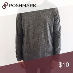 Grey Long Sleeve H&M Men's Long Sleeve! Perfect condition - worn twice. Not uo tagged for exposure. Urban Outfitters Shirts Tees - Long Sleeve