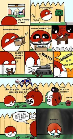 Poor polandball