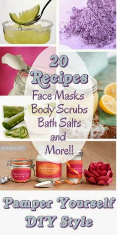 20 Pamper Yourself Recipes
