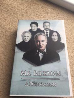 Alan Rickman: Memorial Project