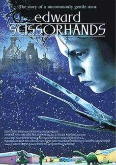 Edward Scissorhands. I always associate the Savage Garden song Truly Madly Deeply with this movie, thought the movie was 7 years older...maybe it was just how I felt about ol Eddie boy. Yes I could definitely see myself standing with him on a mountain, or bathing with him in the sea
