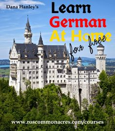 Free online German course, especially for homeschoolers Holidays Germany, Cities In Germany, Germany Travel, German Language Learning, Learn German, Foreign Languages, Learn Languages, Never Stop Learning, Travel Abroad, Germany, Hamburg, Germany Destinations