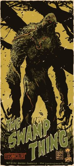 The Swamp Thing by Francesco Francavilla *