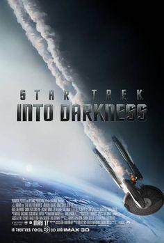 #StarTrek #IntoDarkness poster USA