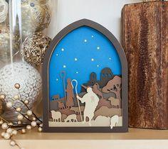 Christmas Nativity Dimensional Scenes