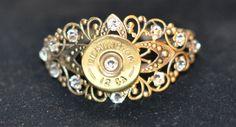 Remington 12 Gauge Shotgun Shell Bullet Cuff by OnTargetJewelry, $26.99