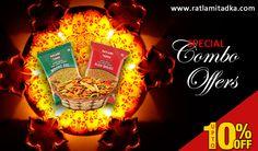 Special Combo #offer | Upto 10% off | With #Ratlamitadka Fast #Shop now @ http://www.ratlamitadka.com/