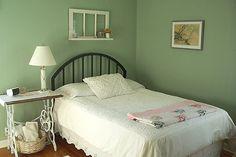 Existe quarto de hospede mais bonito do que esse?