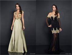 iris clemencia vestido festa