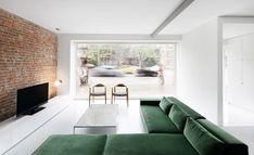Theexhibitionist - desire to inspire - desiretoinspire.net beautiful couch, beautiful emerald