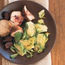 Try the Sautéed Brussels Sprouts with Olive Oil and Lemon Peel Recipe on williams-sonoma.com