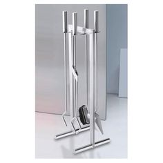 ZACK Calore 5 Piece Stainless Steel Fireplace Tool Set @ All Modern $520