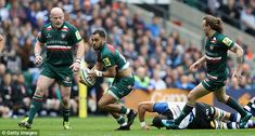 Leicester 34-19 Bath: Tigers play-off ambitions back on track -  Leicester Tigers secure later victory in front of 60000 fans at Twickenham  No 8 Sione Kalamafoni scored two tries to keep Leicester in the game during the second half  Leicester need two decisive tries in the last seven minutes to seal victory  By Pa Reporter  Published: 14:21 EDT 7 April 2018 | Updated: 14:49 EDT 7 April 2018  Leicester Tigers are back in the Aviva Premiership play-off race after a pair of decisive tries in…