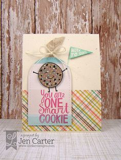 Jen Carter Smart Cookie, Lil' Inker Designs