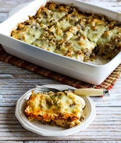 Recipe for Sausage and Kale Mock Lasagna Casserole (Low-Carb, Gluten ...