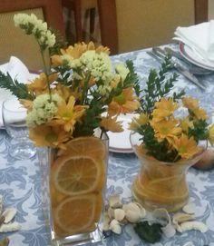 Flores y frutas