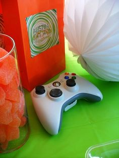 XBOX - Teen boy's party - Party Planning - Party Ideas - Cute Food - Holiday Ideas -Tablescapes - Special Occasions And Events - Party Pinching