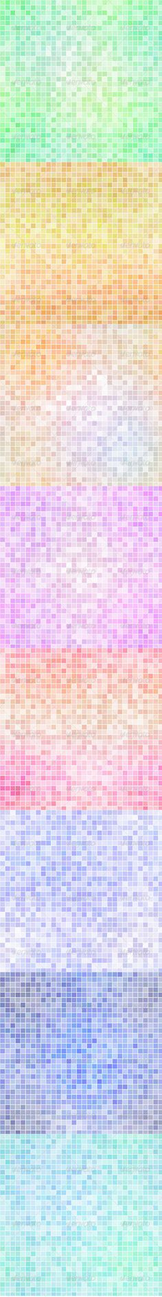 This set contains 8 different mosaic backgrounds, ideal for website design or your own project, size is 30003000, jpg version mus
